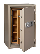 BDS-T1000: Example of a Commercial Safe used for the protection of data.