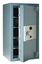 TRTL30-X6: Example of a Jewelry Safe used for the protection of inventory.